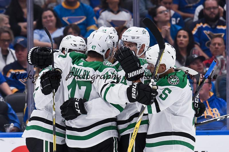 NHL 2019: Stars vs Blues Oct 05