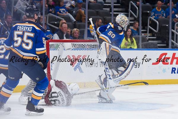 2019-10-21 - Colorado Avalanche at St. Louis Blues