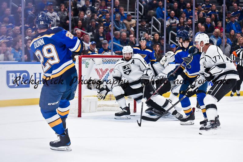 NHL 2019: Kings vs Blues Oct 24