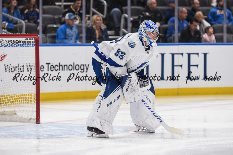 NHL 2019: Lightning vs Blues Nov 19