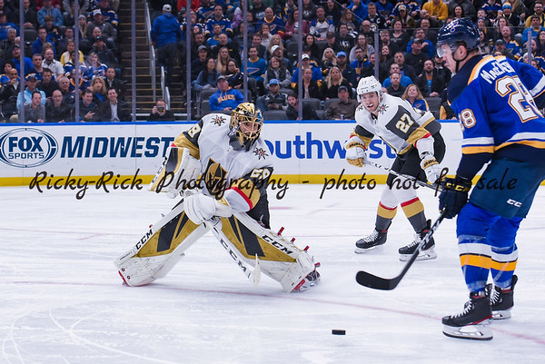 2019-12-12 - Vegas Golden Knights at St. Louis Blues