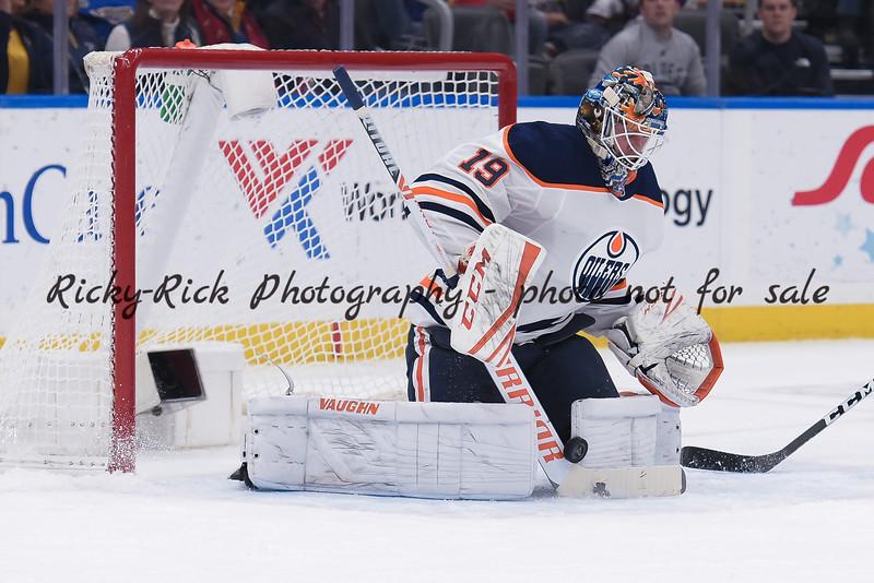 NHL 2019: Oilers vs Blues Dec 18