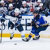 NHL 2019: Jets vs Blues Dec 29
