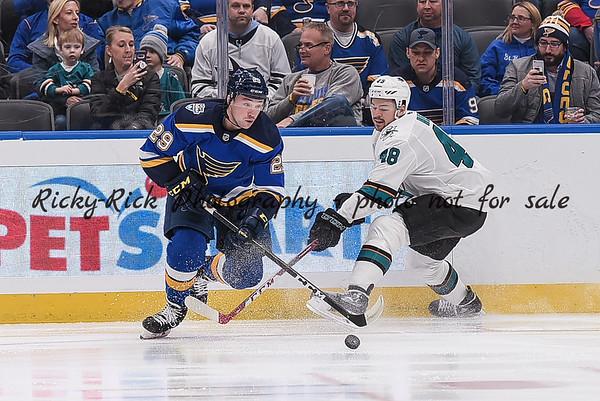 2020-01-07 - San Jose Sharks at St. Louis Blues
