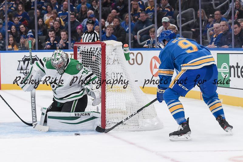 NHL 2020: Stars vs Blues Feb 08