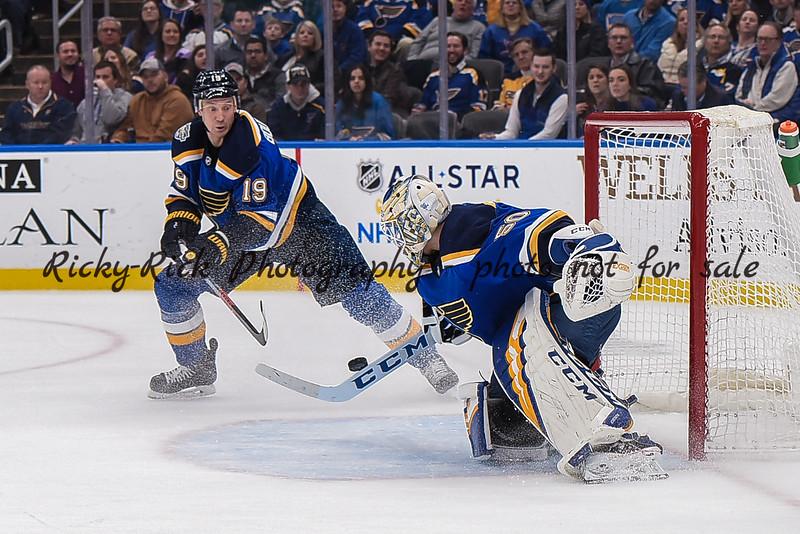 NHL 2020: Sabres vs Blues Jan 09