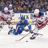 NHL 2020: Rangers vs Blues Jan 11