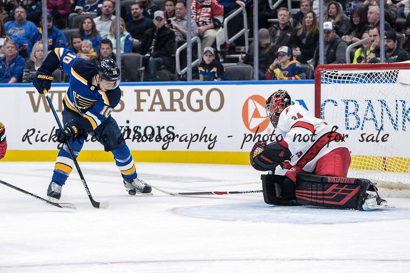 NHL 2020: Hurricanes vs Blues Feb 04