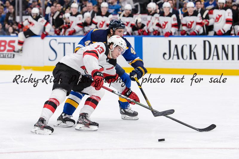 NHL 2020: Devils vs Blues Feb 18