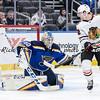 NHL 2020: Blackhawks vs Blues Feb 25