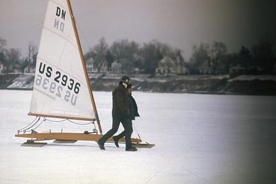 Henry Bosett Photos: 1976 Iceboat Racing