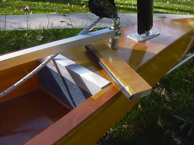 I removed the toe-block and replaced it with thin carpeting and an aluminum kick-plate to give my long legs more room.