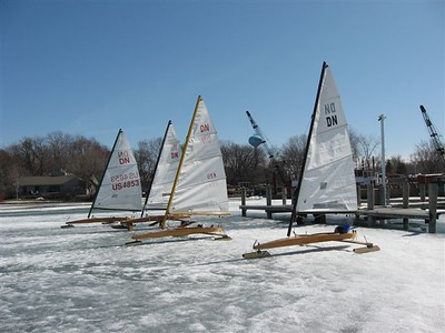 Mine is the closets iceboat.  We are at Sailcrafter on Lake Minnetonka.
