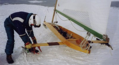 Jim Wood, the leader of our group.  Jim, Jon and Dave Klatt built three boats as a team.
