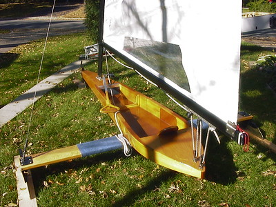 My ice boat was built by the late Dave Klatt ... I built the plank after breaking the original