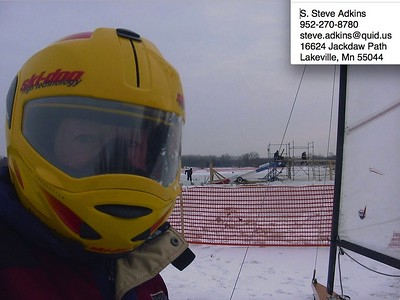 """CONTACT INFORMATION ... PS: I sailed Lake Phalen in St. Paul when workers were cutting blocks of ice for the Ice Castle.  Several workers came up to the fence and said, """"Is that a DN?"""""""