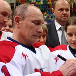 Владимир Путин, президент РФ, хоккей, на льду