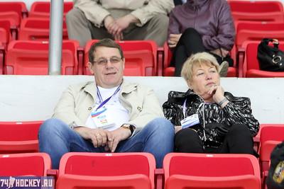 Николай Макаров болеет за своих земляков