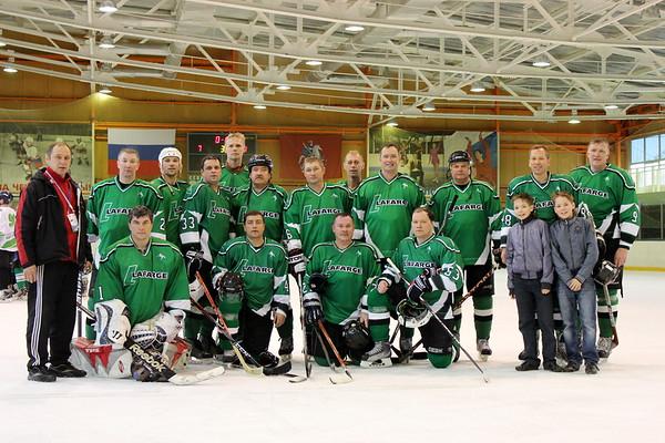 Lafarge, хоккейная команда ветеранов, Челябинск