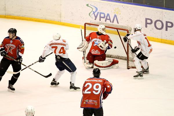 АМЗ (Челябинск) - Центурион-1 (Челябинск) 7:5. 17 февраля 2013