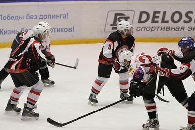 Центурион (Челябинск) - Стальные Акулы (Магнитогорск) 4:2. 21 декабря 2012