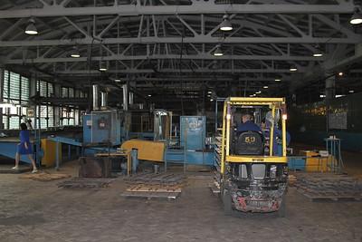 Мететорит (Челябинск). Экскурсия по Южноуральскому арматурно-изоляторному заводу. 28 мая 2013