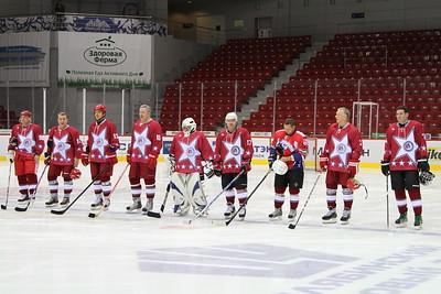 Любители Урала - Звезды НХЛ 8:7. 20 октября 2013