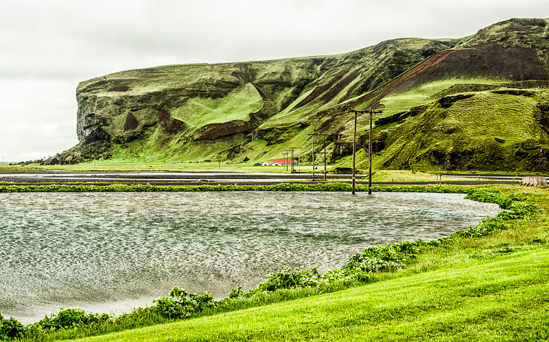 Start of drive to Landmannalaugar from hotel Katla