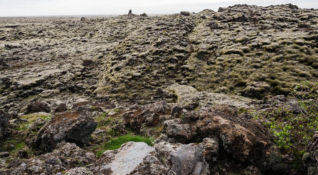 Major lava flow