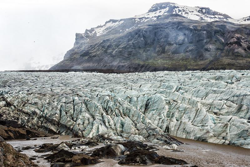 Vatnajokull Nation Park-Vatnajokull glacier