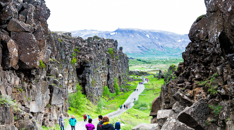Pingvellir National Park-site of ancient parliament