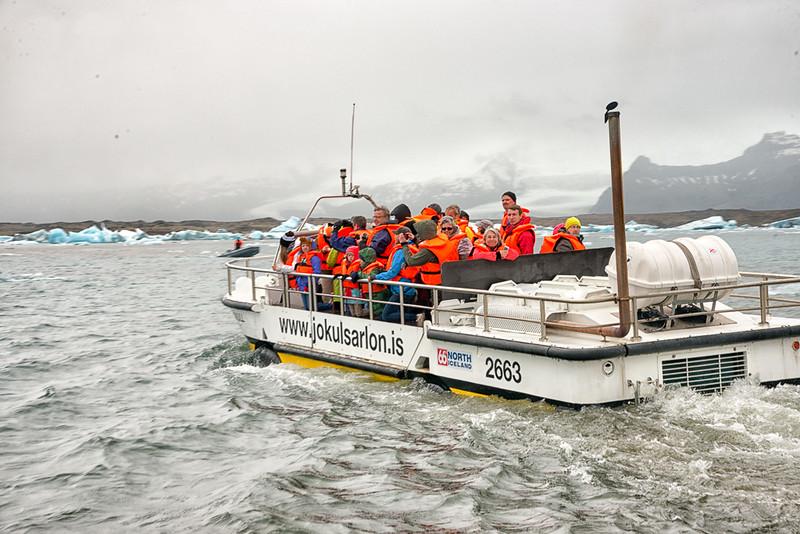 Jokulsarion glacier lagoon-Boat rides