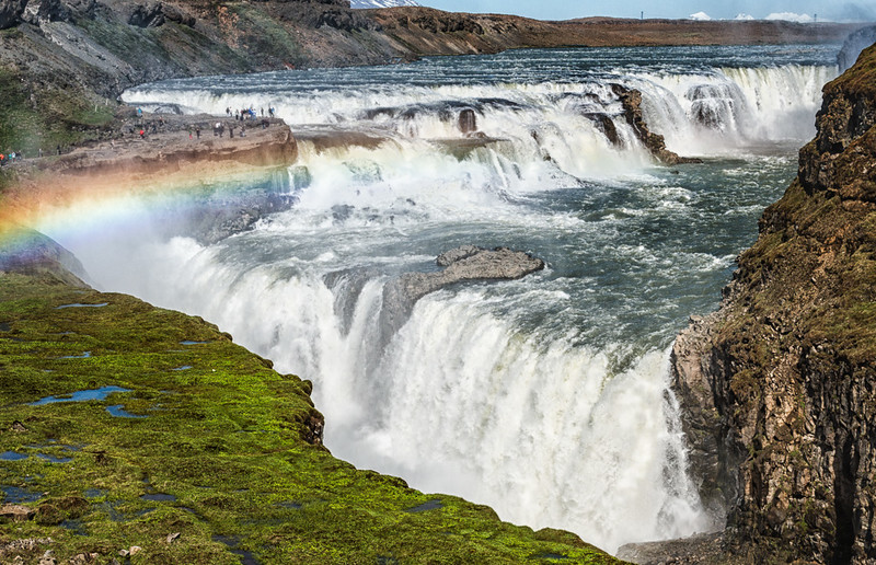 Gulfoss- The Golden Waterfall