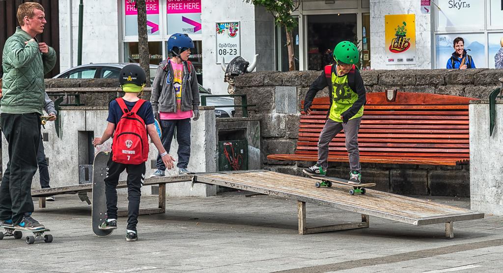 Skate boarding lessons