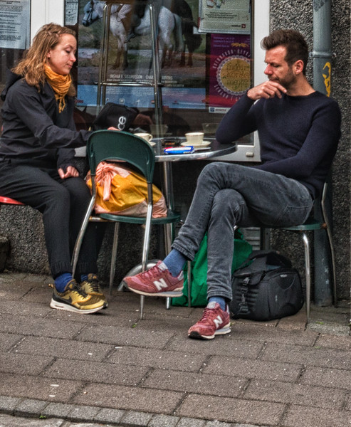 Lunch on the street
