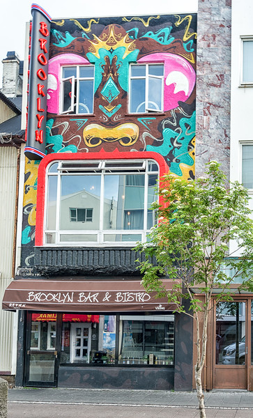 Brooklyn bar in Reykjavik