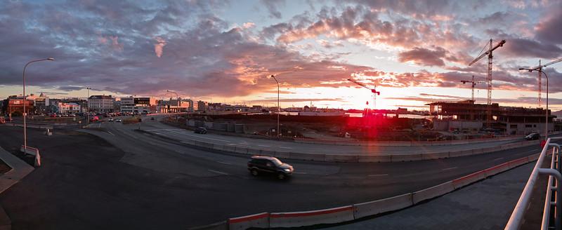 Rekyavik Sunset