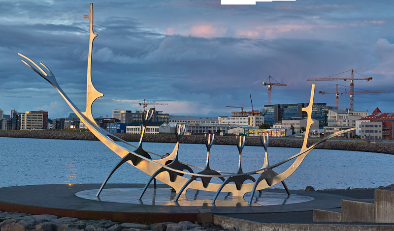 Viking Memorial Sunset