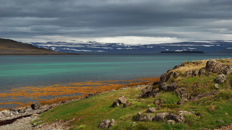 The Westfjords is a peninsula in northwestern Iceland and is one of Iceland's most spectacular regions. The Westfjords are heavily indented by dozens of deep blue fjords and the landscapes are  rugged and mountainous.