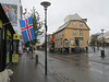 This is downtown Reykjavik on Thursday afternoon the day we arrived. This is at the intersection of Laugavegur and Skolavoroustigur.