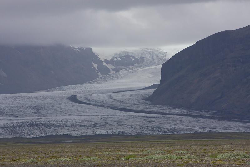 Skeioararjokull in Skaftafell National Park.