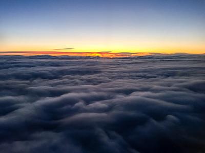 Sunrise over Keflavík