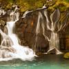 Barnafoss Lava Falls