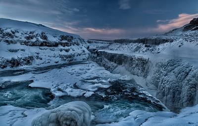 Cold Gullfoss
