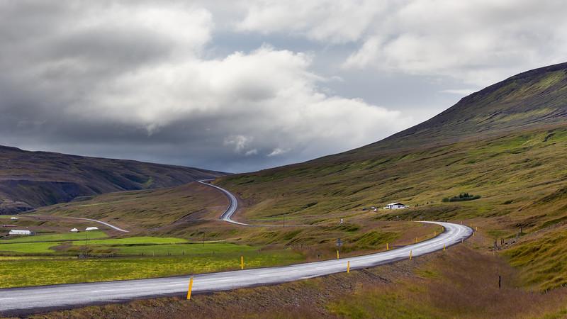 Highway 1 (ring road) in Skjöldólfsstadir