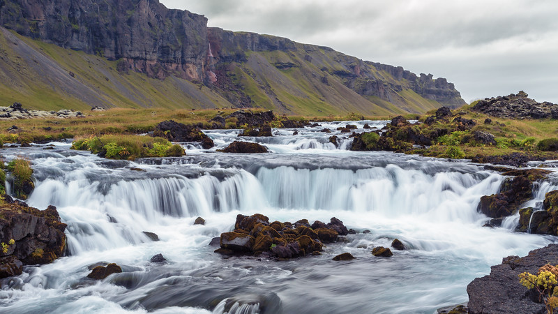 River near Kirkjubaejaklaustur