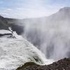 Gullfoss: Iceland's Golden Falls plunge into a rift.