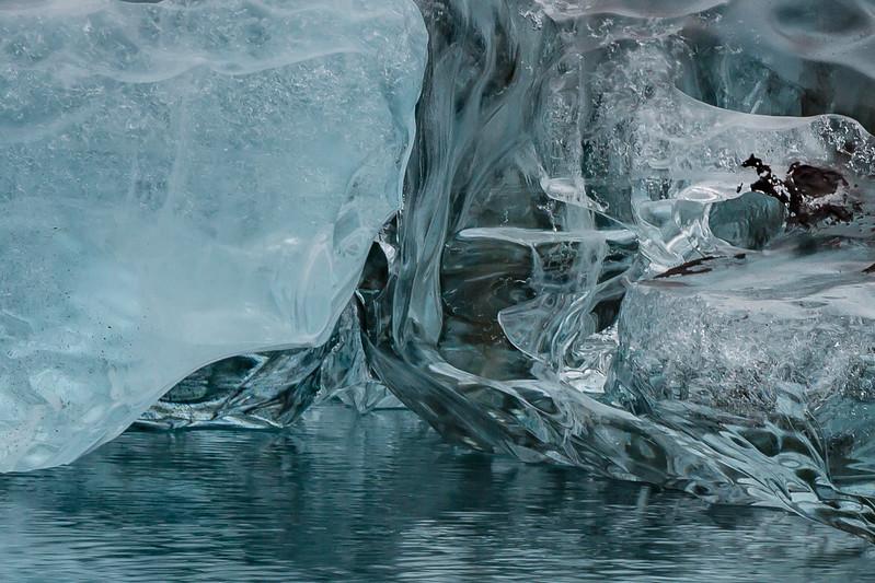 glacier ice still life #2