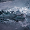 glacier ice still life