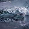 glacier ice still life
